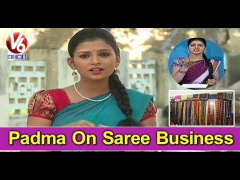 Padma On Saree Business | Bidar Trader Sells Sarees For Rs 1 | Teenmaar News | V6 News