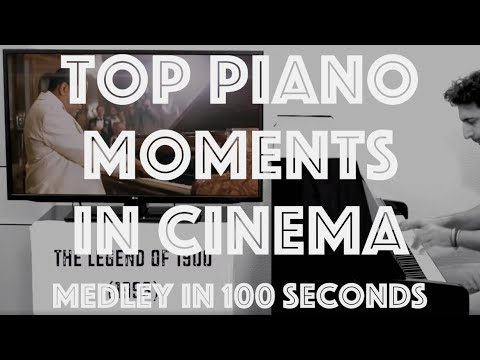 A Medley of Great Piano Moments in Movies