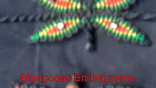 Download Lagu Mariposas En Macrame y Pulseras En Colores Rasta - Butterflies In Macrame Rasta colors and Bracelets Mp3