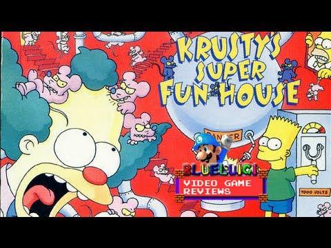 Krusty's Super Fun House Super Nintendo
