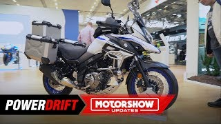 10. 2019 Suzuki V-Strom 650 XT : What Adventure touring dreams are made of :  PowerDrift