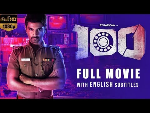 100 Tamil Full HD Movie without Censor Cut | with English Subtitles | Atharvaa | Hansika Motwani