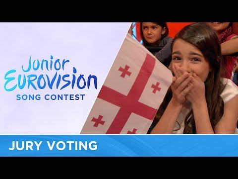 All the professional jury votes of the 2016 Junior Eurovision Song Contest (видео)