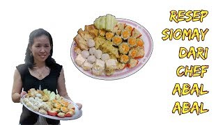 Video RESEP SIOMAY ALA CHEF TER ABAL ABAL SEDUNIA!!! MP3, 3GP, MP4, WEBM, AVI, FLV Januari 2019
