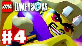 LEGO Dimensions - Gameplay Walkthrough Part 4 - Ninjago! (PS4, Xbox One)