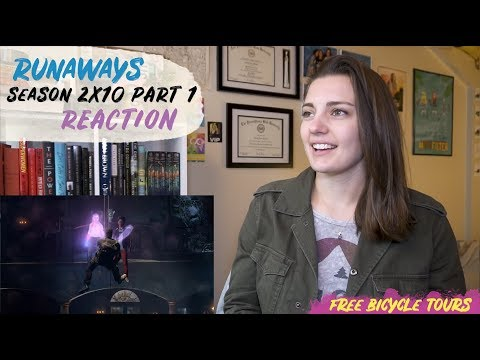 "Marvel's Runaways Season 2 Episode 10 ""Hostile Takeover"" REACTION Part 1"