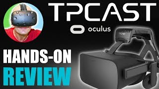 WIRELESS OCULUS RIFT WITH TPCAST!   Hands-On: Rift TPCAST Review, Unboxing & Installation Tutorial