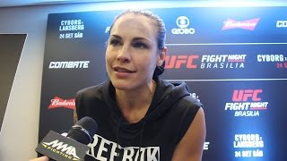 Lisa Lansberg on Cris Cyborg Weight Cut: 'That's Her Problem' by MMA Fighting