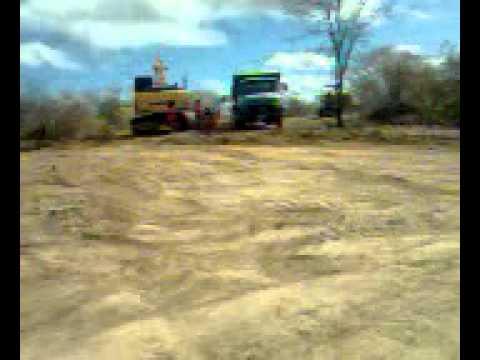 Sitio Lajes, Catolé do Rocha PB Construção do Açude part2