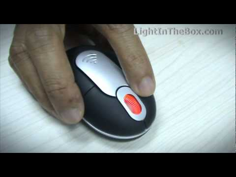 Mini Wireless Optical Mouse From MiniInTheBox
