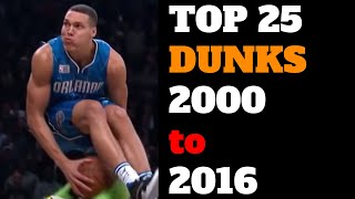 Video Top 25 NBA Slam Dunk Contest Dunks of All Time (2000-2016) HD Best List MP3, 3GP, MP4, WEBM, AVI, FLV September 2019