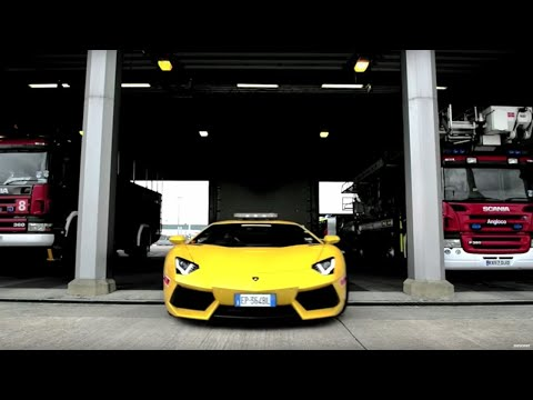 Lamborghini Aventador put to work at airport – Top Gear Magazine