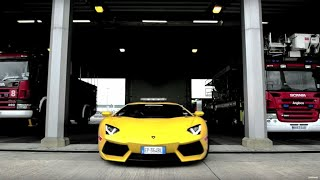 Lamborghini Aventador put to work at airport - Top Gear Magazine