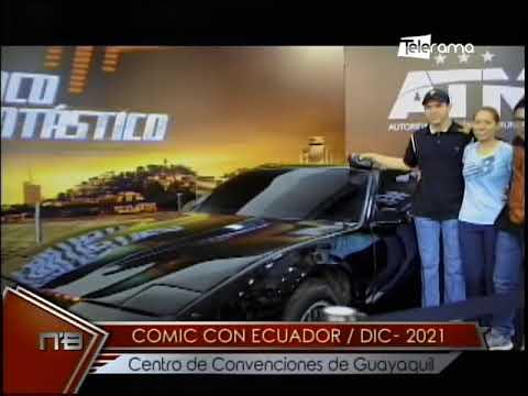 Comic Con Ecuador / Dic - 2021 Centro de Convenciones de Guayaquil