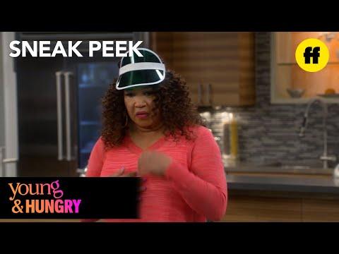 Young & Hungry | Season 4, Episode 7 Sneak Peek: Yolanda's Meeting | Freeform