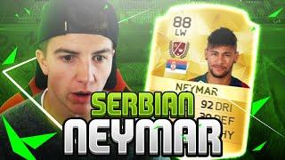 FIFA 16 'THE SERBIAN NEYMAR' BE A LEGEND #07, neymar, neymar Barcelona,  Barcelona, chung ket cup c1, Barcelona juventus
