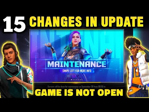 FREE FIRE NEW UPDATE | GAME IS NOT OPEN | FREEFIRE OB30 UPDATE DETAILS - GARENA FREE FIRE