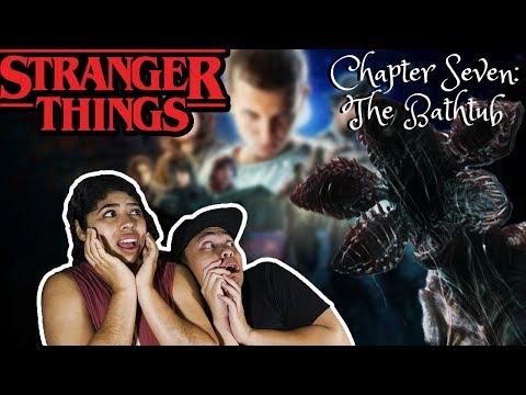 Stranger Things Season 1 Episode 7 REACTION! Chapter Seven: The Bathtub