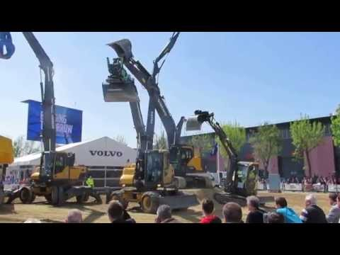 Intermat Paris 2015 Volvo Show