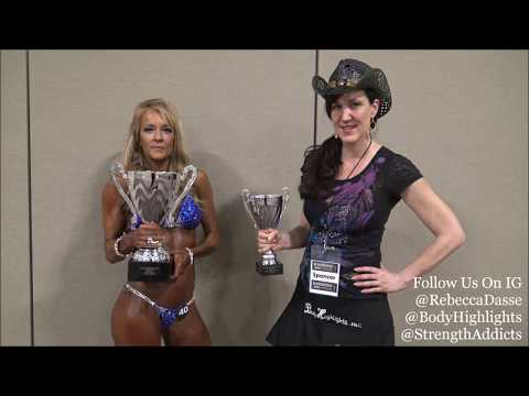 Rebecca Dasse, Wendy Edick - 2018 NPC Northern KY (Interview) (видео)