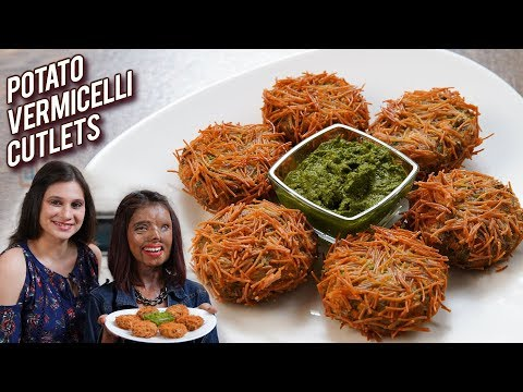 Potato Vermicelli Cutlet – Aloo Vermicelli Cutlets – Snack Recipe – Women's Day Special With Ruchi