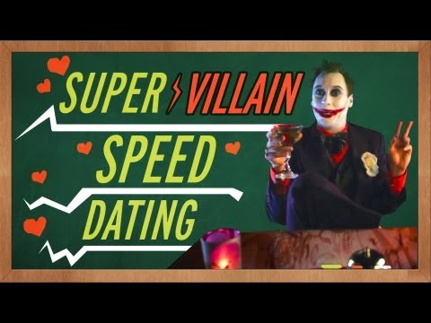 Speed - Even Supervillains need a little love from time to time. Which one would you date? Watch Superhero Speed Dating: http://www.youtube.com/watch?v=RnM_tcDcZLE D...
