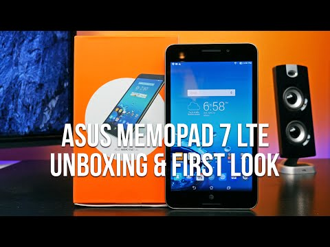 ASUS MeMO Pad 7 LTE Unboxing: An Inexpensive, Always-Connected Tablet