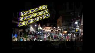 Bardstown Street Concert on July 6th at 7 PM