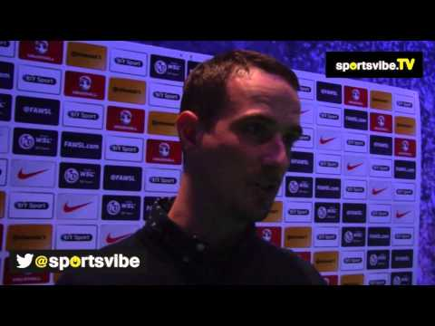 Mark Sampson Talks About Managing England's Women