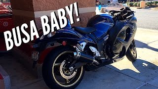 9. First Ride on a Suzuki Hayabusa!