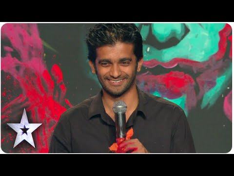 Video Vilas Nayak Paints Giant Joker Portrait In 2.5 Minutes | Asia's Got Talent Episode 5 download in MP3, 3GP, MP4, WEBM, AVI, FLV January 2017