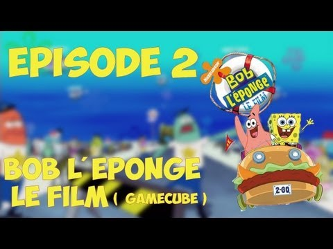 gameplay bob l'éponge le film gamecube