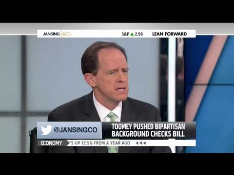 MNSBC - Courtesy MSNBC's Jansing & Co. - December 4th, 2013 As we approach the one-year anniversary of the tragedy at Sandy Hook Elementary, Senator Pat Toomey (R-PA...