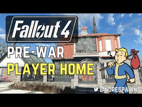 Fallout 4 Mod Review - Pre-War House - Player Home (Settlement Edition) (видео)