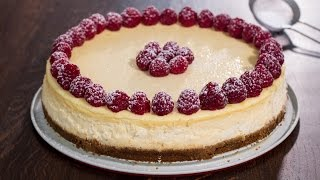 Classic Cheesecake Recipe by Home Cooking Adventure