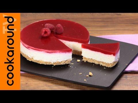 cheesecake ai frutti di bosco fredda semplice e veloce - ricetta