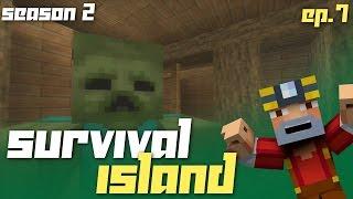 Minecraft Xbox 360: Survival Island - Season 2! (Ep.7 - Zombies!)
