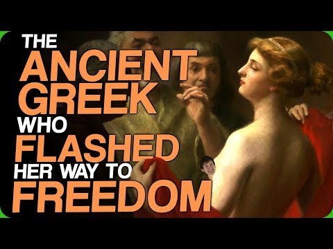 The Ancient Greek Who Flashed Her Way to Freedom (Some Good Looking Men)