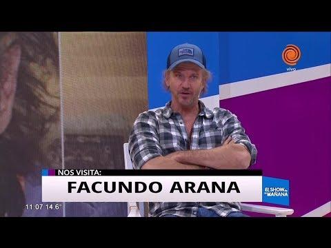 """Facundo Arana trae """"Cartas de Amor"""""""