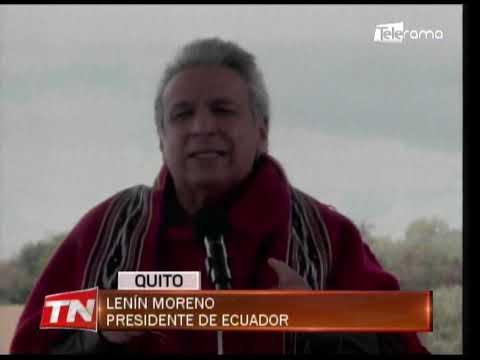 Presidente Lenín Moreno respalda al sector campesino