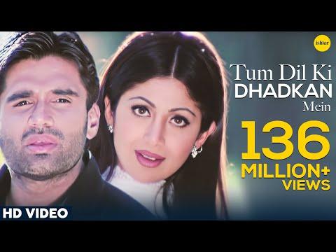 Video Tum Dil Ki Dhadkan Mein -HD VIDEO | Suniel Shetty & Shilpa Shetty |Dhadkan| Hindi Romantic Love Song download in MP3, 3GP, MP4, WEBM, AVI, FLV January 2017