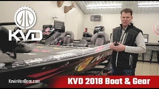 KVD 2018 Boat and Gear Tour