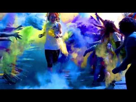 Run or Dye 5k race set to brighten up Britain this September video