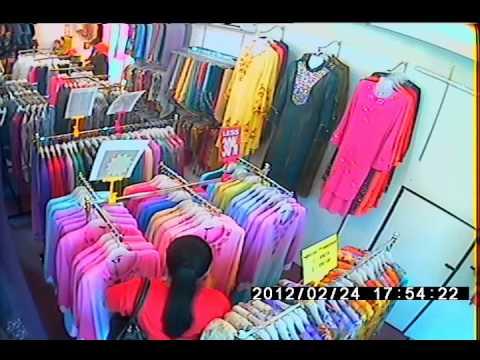 pencuri - mencuri blouse dan baju kurung