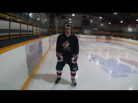 How to Skate Backwards in Hockey