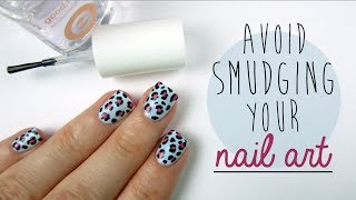 How To Avoid Smudging Your Nail Art! - YouTube