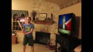 Clinton's voters going crazy 😂😂😂Must watch!!idiot people breaking TV when they getting angry about the election results. 😂Trump vs Clintonshare, like and subscribe!thank you for watching!