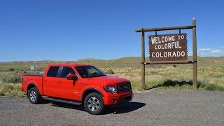 Silverton Colorado to Ohio - return trip via I-70 - Time Lapse