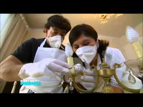 comment nettoyer lustre en bronze