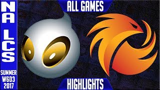 Dignitas vs Pheonix1 Highlights ALL GAMES - Week 6 NA LCS Summer 2017 - DIG vs P1NALCS teams: Dignitas, Fly Quest, TSM, EnVyUs, Phoenix 1, CLG, Liquid, Echo Fox, Immortals, Cloud9NA LCS Spring 2017 playlist: https://www.youtube.com/watch?v=6Nat_jBUPyE&list=PLJwuLHutaYuLhpm8EMj2AyWxhS4xEFKn4☻All games spoiler free with stats and infographs at Stage: https://stage.gg/► All other previous tournaments: http://bit.ly/1WBqwLzKazaLoLLCShighlights -  bringing you fast highlights of LCS, LCK, LPL and LMS League of Legends Esports Matches every day♡♡♡♡♡♡♡♡♡♡♡♡♡♡♡♡♡♡♡♡♡♡♡♡♡♡♡♡♡♡✉ Social media below - Follow for regular updatesⓕⓑ  KazaGamez  ►http://on.fb.me/1N5j0EHⓖ+                            ►http://bit.ly/1Bpjrbaⓣⓦⓘⓣⓣⓔⓡ      ►Twitter      -  http://bit.ly/1BkVAtGⓣⓦⓘⓣⓒⓗ          ►Livestream: http://bit.ly/1BpjzYdⓓⓞⓝⓐⓣⓔ          ►Paypal: http://bit.ly/1cBU6JnSubscribe: http://bit.ly/1oZa2wJ
